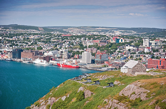 Contact East 2018 Host City: St. John's, NL | St. John's Harbour